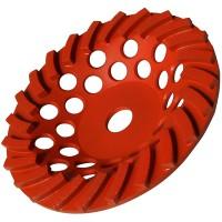 Чашка турбо D180 22,23 12 (30x6x8), D180 22,23 24 (30x8x5) для мозаично-шлифовальной машины HP-SM2